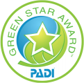 PADI Green Star Award 2015