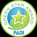 PADI Green Star Award 2015