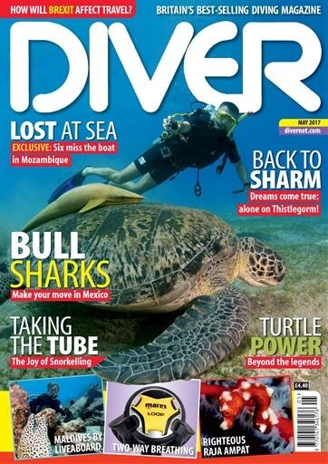Diver magazine Mai 2017