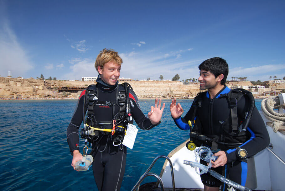 Learn to dive in Egypt, Red Sea