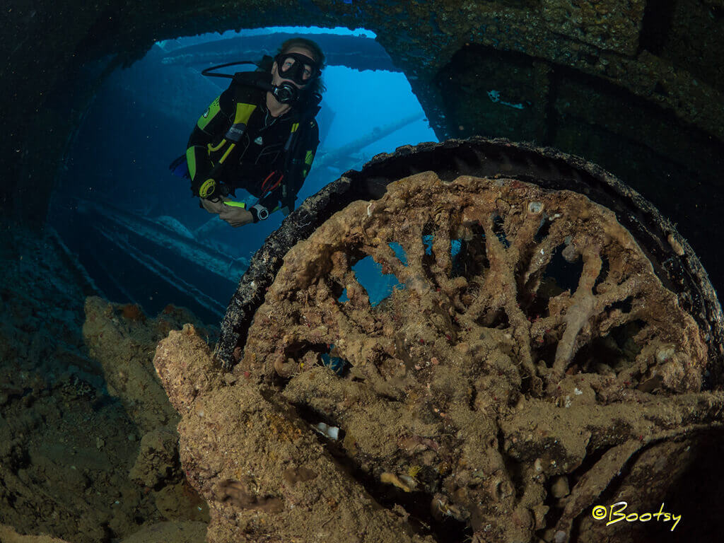 top tips for wreck diving